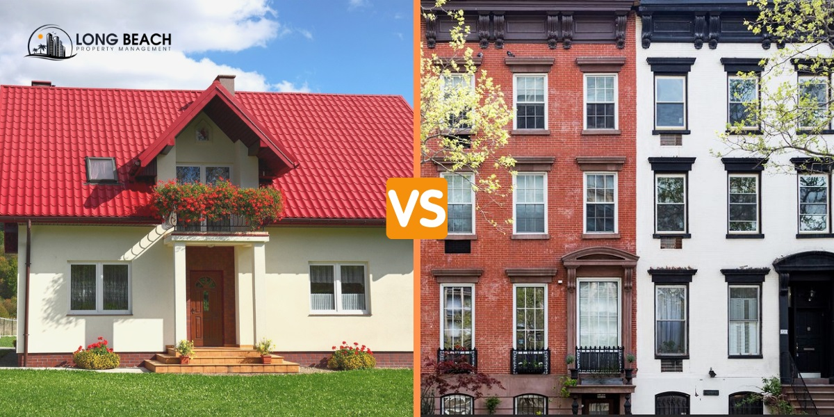 Single family vs. multi-family rental management